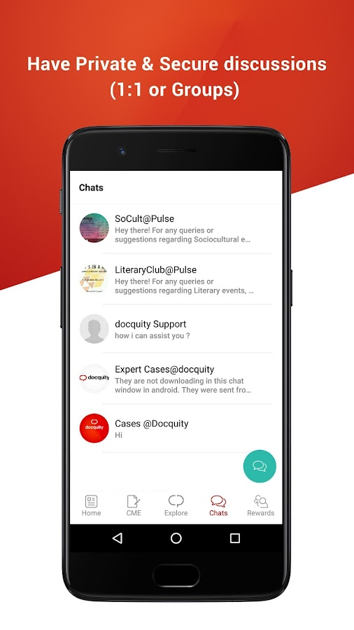 Docquity- Medical Cases Discussion App- screenshot