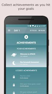 SPACE: Break phone addiction, stay focused Screenshot