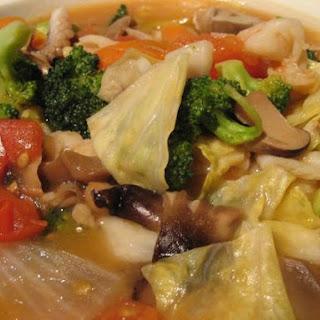 Chap Chai seafood (Mix Vege).