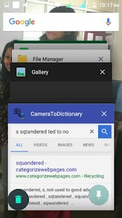 Camera to Google (Google search word using camera) - náhled