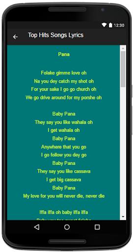 Download Tekno Song&Lyrics Google Play softwares