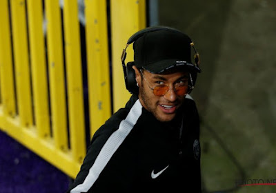 Neymar en perd sa godasse