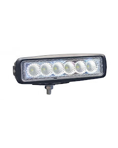 "LED-backljus 6,3"" 18W (flood)"