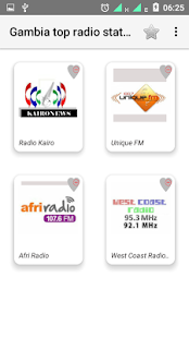 Gambia top radio stations - náhled