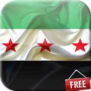 Flag of Syria Live Wallpaper