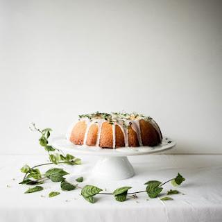 Lemon and Creme Fraiche Cake with Limoncello Glaze