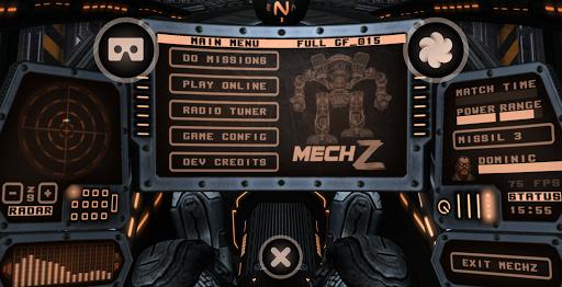 MechZ VR Demo - Robot mech war shooter game  code Triche 1