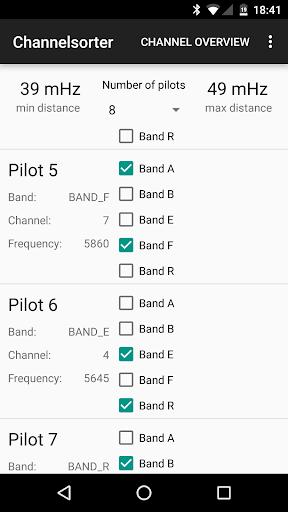 FPV Video Channelsorter 5.8GHz