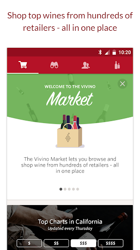 Vivino Wine Scanner Screenshot