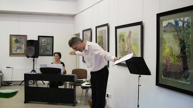 Photo: Vitalijus Muravjovas (tenoras), Aurelija Kržanavičienė (fortepijonas)