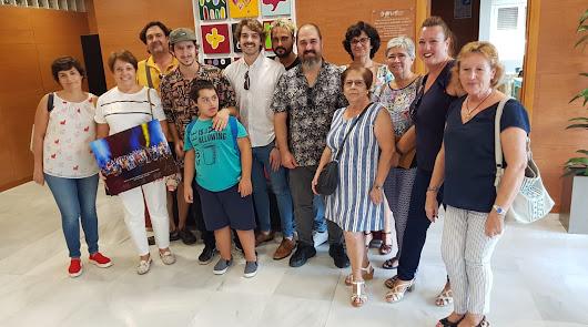 El grupo musical Nixon visita la Asociación Asalsido