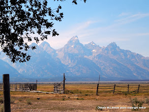 Photo: Fence at Tetons