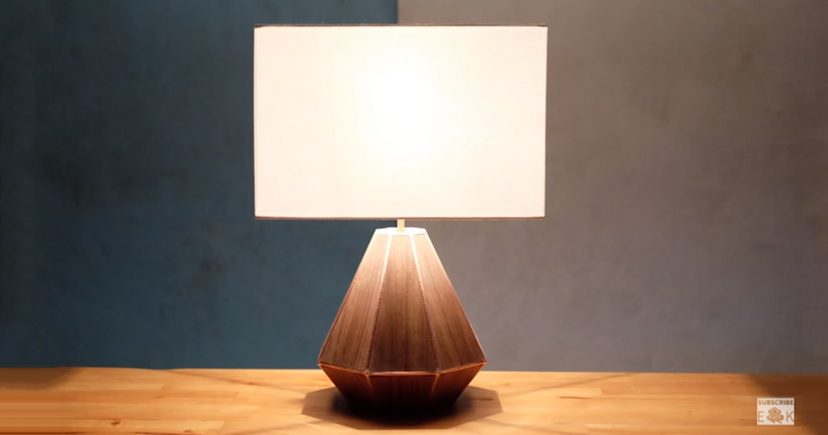 How to make a 3d printed wooden lamp from evan and katelyn matterhackers