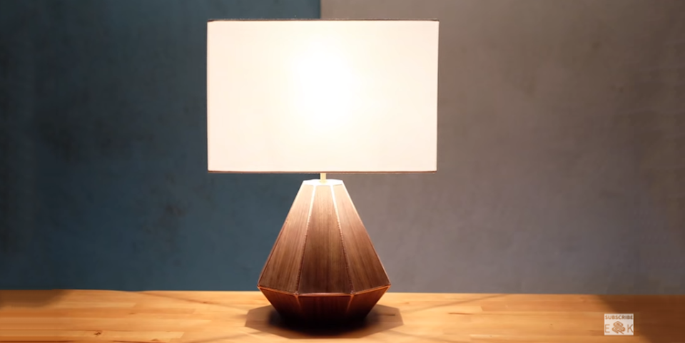 How To: Make a 3D Printed Wooden Lamp from Evan and Katelyn