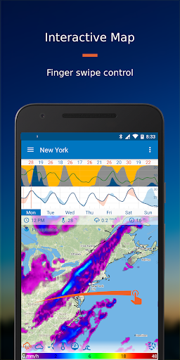 Flowx: Weather Map Forecast 3.120 screenshots 1