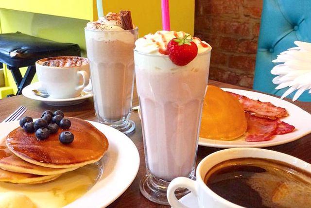 malteadas smoothie cafeteria