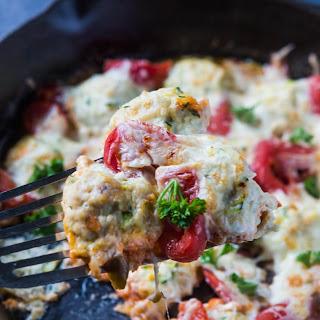 Parmesan Turkey Zucchini Meatballs.