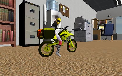 Office Motorbike Simulator 3D