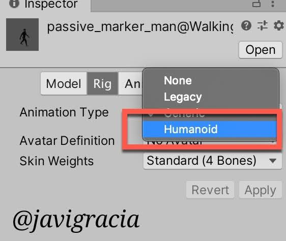 Animations Humanoid
