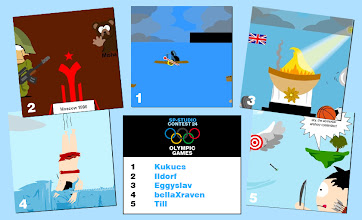 Photo: 08/2012: OLYMPIC GAMES [ Kayak tours, Games of the XXII Olympiad, Olympic Fire, Olympic Dive, archery contention ]