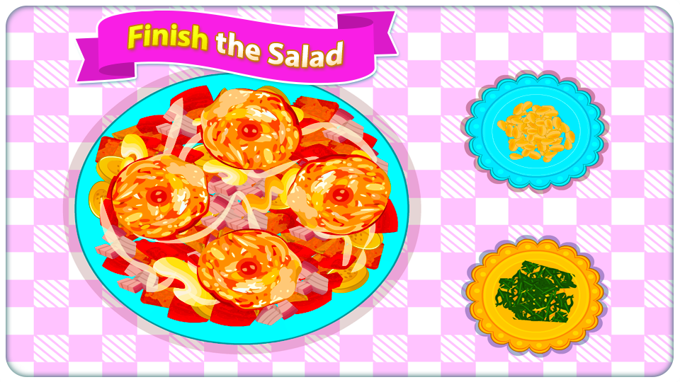Fried Chicken Salad Cooking- screenshot