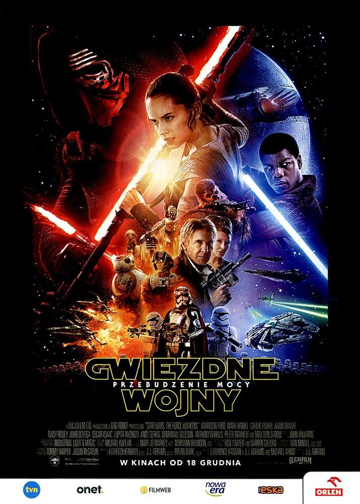 Ulotka filmu 'Gwiezdne Wojny: Przebudzenie Mocy (przód)'