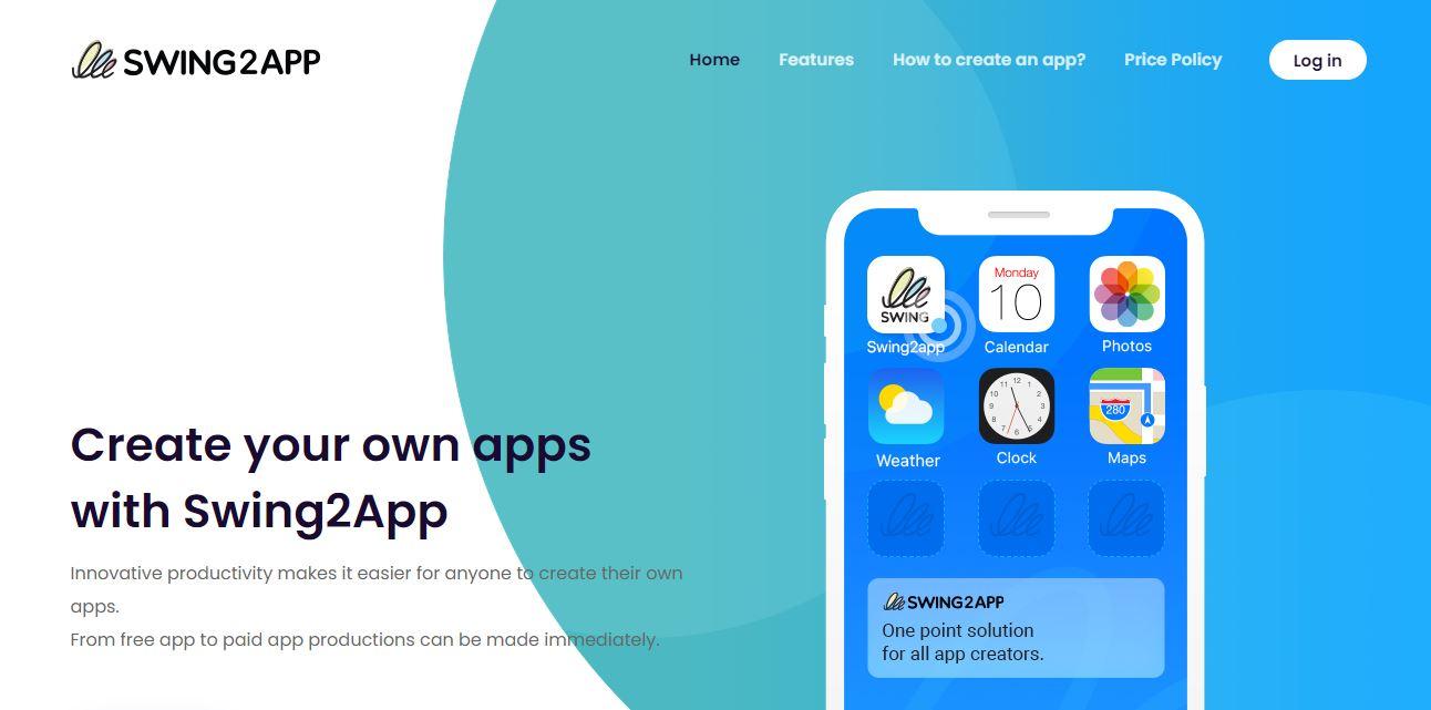 Swing2App Mobile Software Development Software