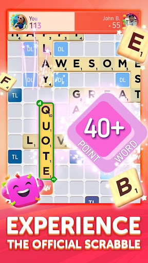 Scrabbleu00ae GO - New Word Game android2mod screenshots 2