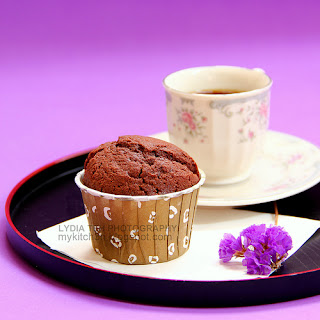 Chocolate Muffin II [A quick afternoon tea]