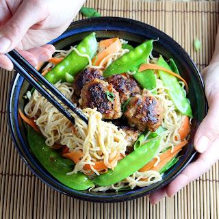 Lemongrass Pork Noodle Bowl.