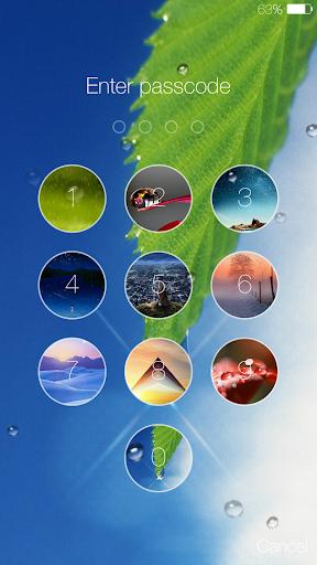Lock screen(live wallpaper) 4.8.7 screenshots 2