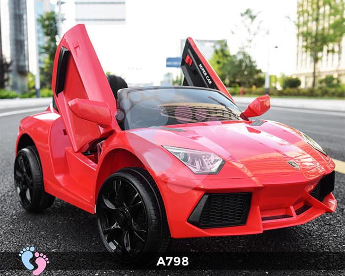 Xe ô tô điện trẻ em Lamborghini A798 6