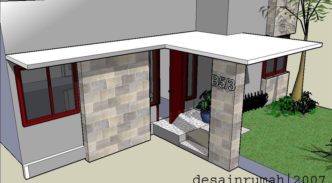 design sweet home desain rumah minimalis tipe 21 model