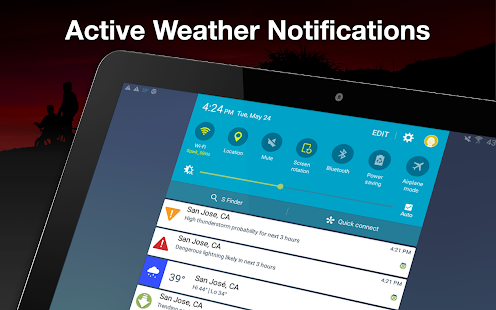 Weather by WeatherBug: Forecast, Radar & Alerts Screenshot