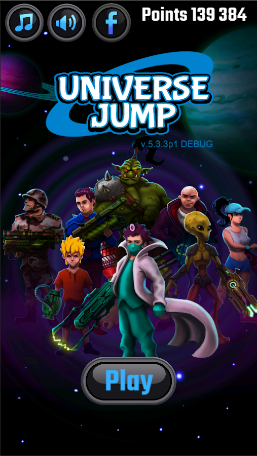 Universe Jump- screenshot