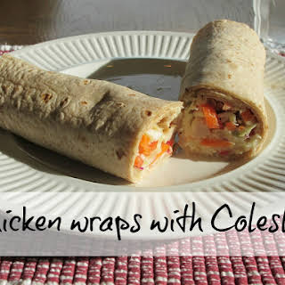 Chicken Coleslaw Wrap Recipes.