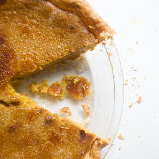 Brûléed Classic Pumpkin Pie