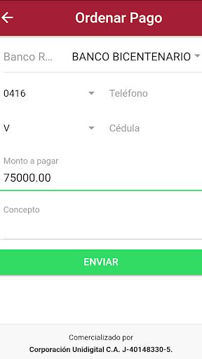 Tu Pago Movil Banco Bicentenario 1.3.2 Screenshots 3