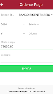 Tu Pago Movil Banco Bicentenario App Latest Version Download For Android and iPhone 3
