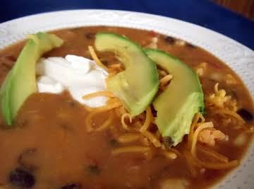 D'Chickin Tortilla Soup