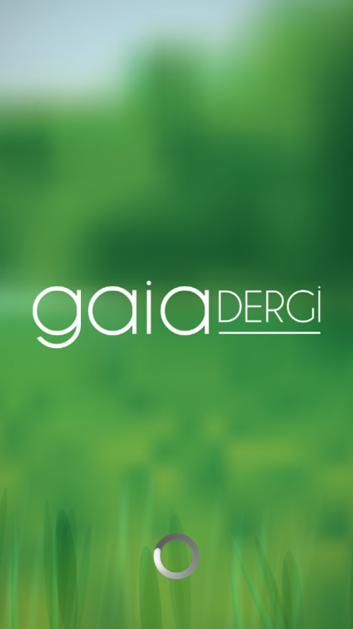 Gaia Dergi- screenshot