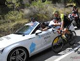Val maakt einde aan de Ronde van Spanje van Luka Mezgec