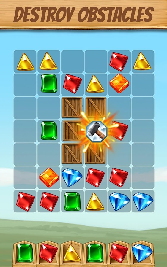 Cascade spin match gem puzzle app android apps on for Cascade big fish game