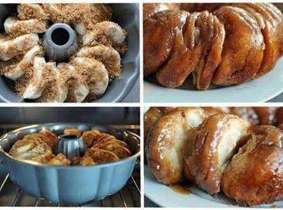 Vanilla Cinnamon Monkey Bread Recipe