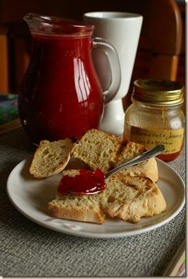 pane succo e marmellata