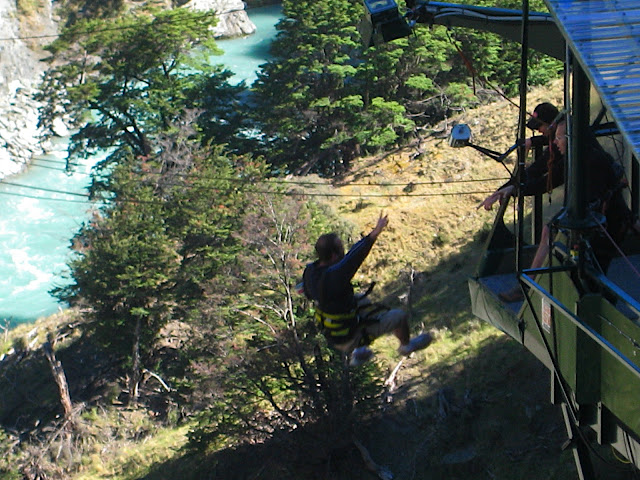 Canyon Swing!