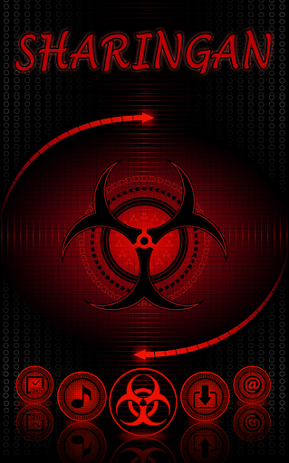 Sharingan Theme: Cool launcher Rasengan Wallpaper 4.0.7 screenshots 2