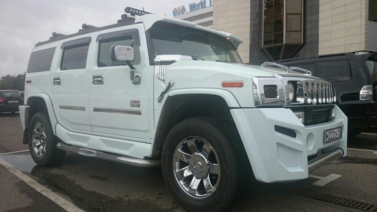 Hummer H2 в Казани