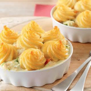 Tuna, Broccoli and Potato Casserole.