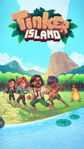 Tinker Island - Pixel Art Survival Adventure  mod screenshots 1